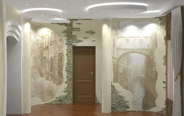 Красивые стены в прихожей: 4 варианта отделки и фото