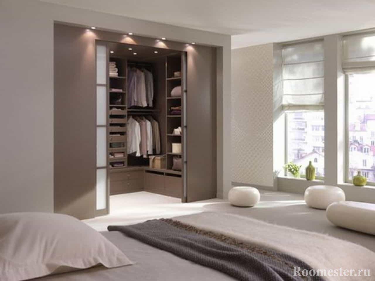 красивые шкафы купе в спальню
