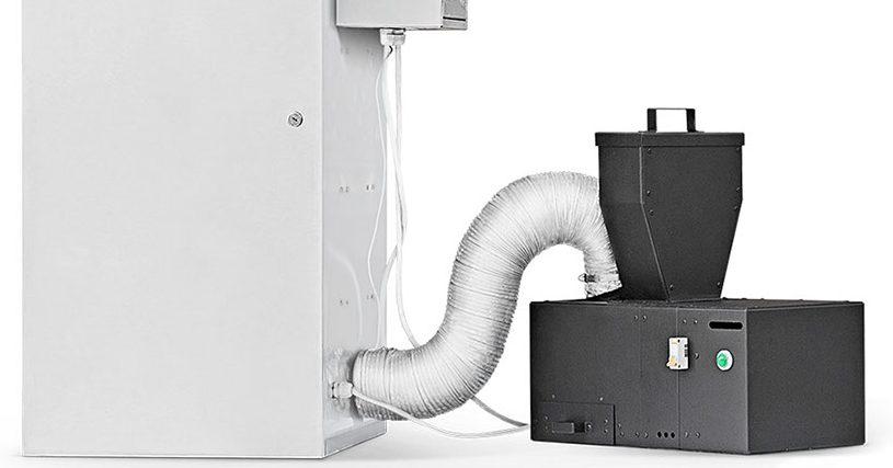 Описание дымогенератора для горячего копчения