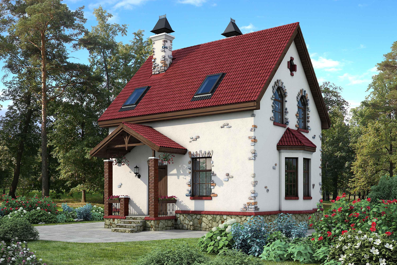 Проекты двухэтажных домов 7 на 9, достоинства и недостатки, возможности планировки