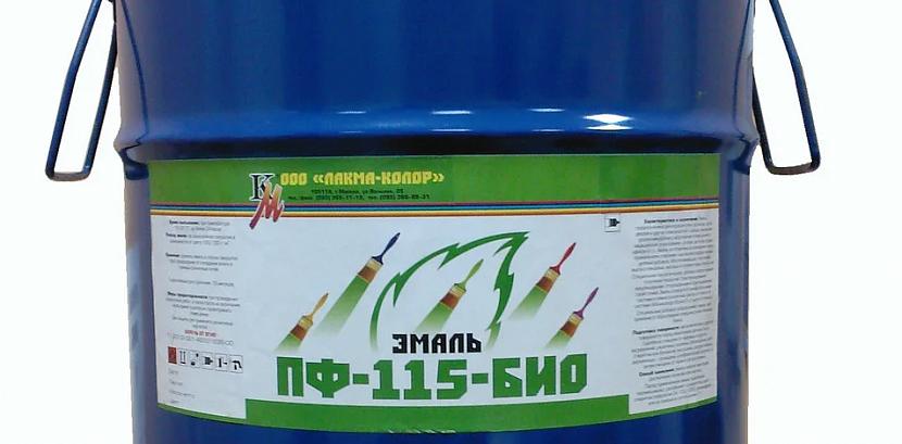Характеристики и применение краски пф-115