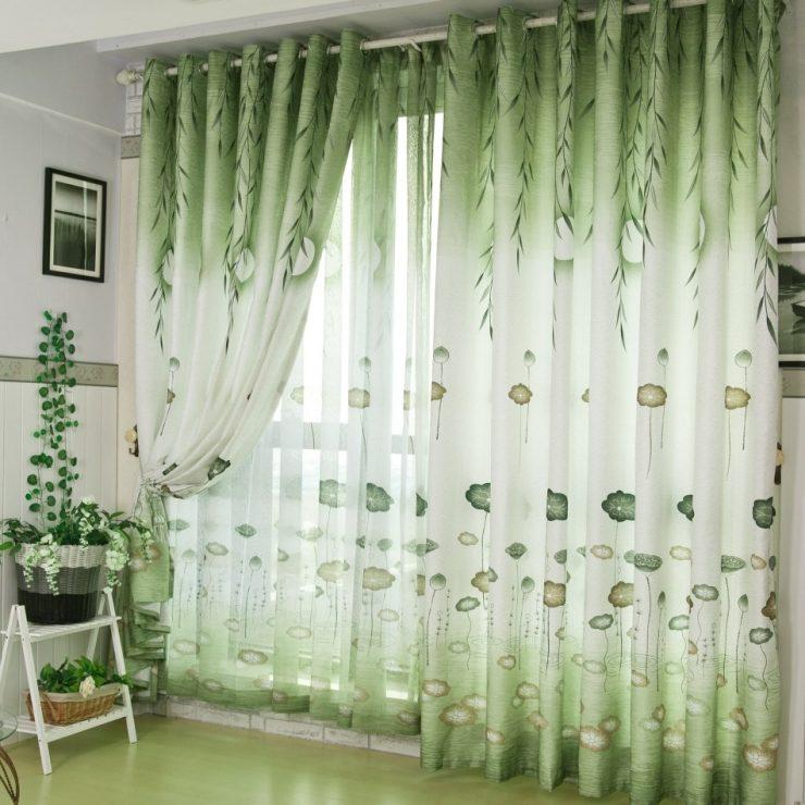 51 идея оформления штор в белом интерьере