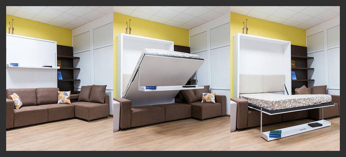 Мебель-трансформер для малогабаритной квартиры (60 фото): функциональность при минимуме пространства