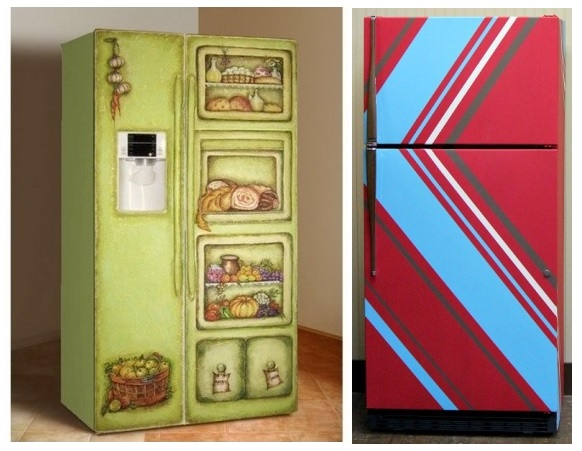 Чем можно покрасить старый холодильник в домашних условиях своими руками