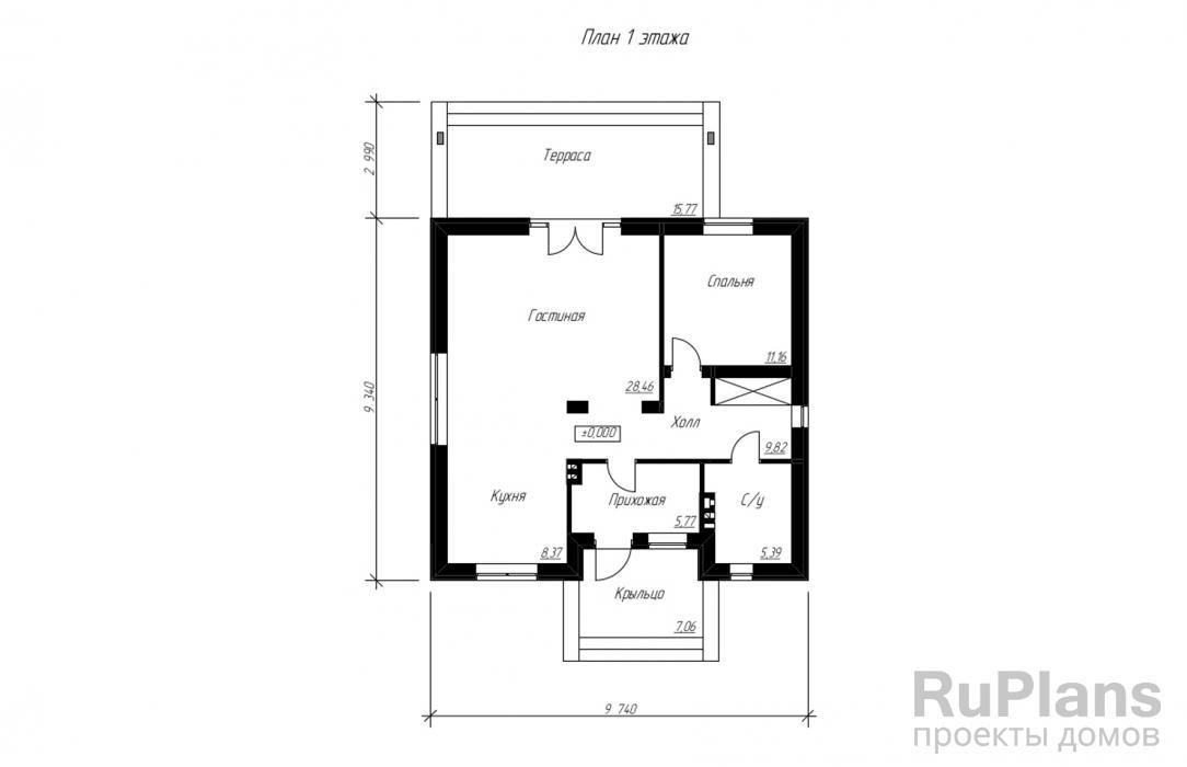 проекты домов буквой г