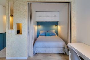 100 идей гостиной-спальни в одной комнате: идеи дизайна на фото