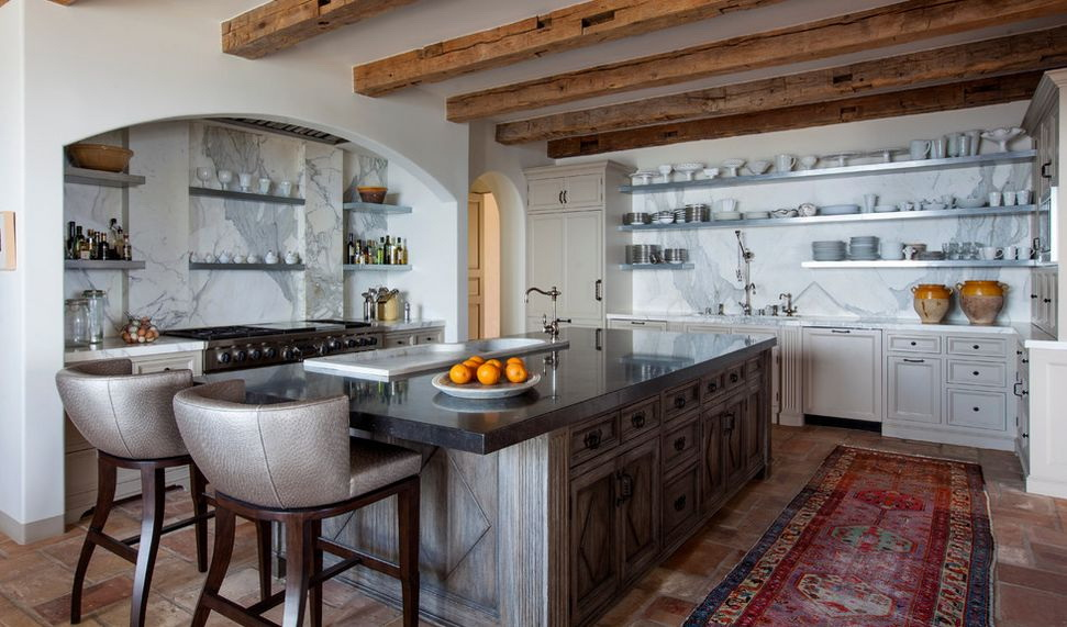 Идеи оформления маленькой кухни в стиле прованс