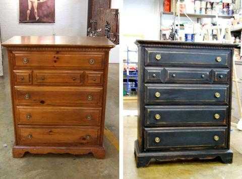 Как реставрировать старую мебель своими руками: фото