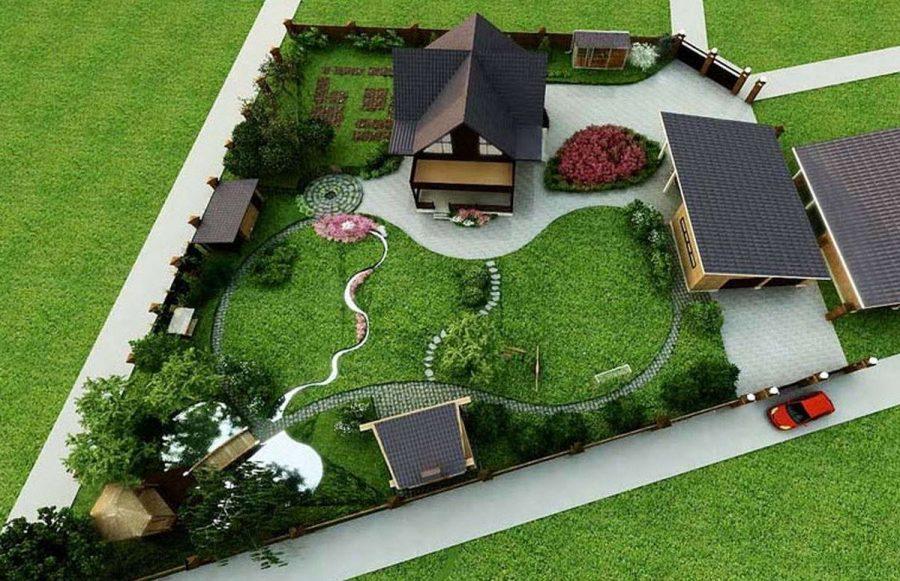 Ландшафтный дизайн: несколько советов для начинающих