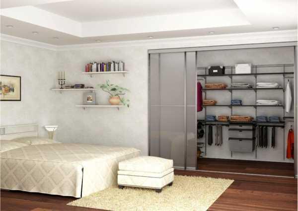 Гардеробная в спальне: варианты размещения, фото в интерьере