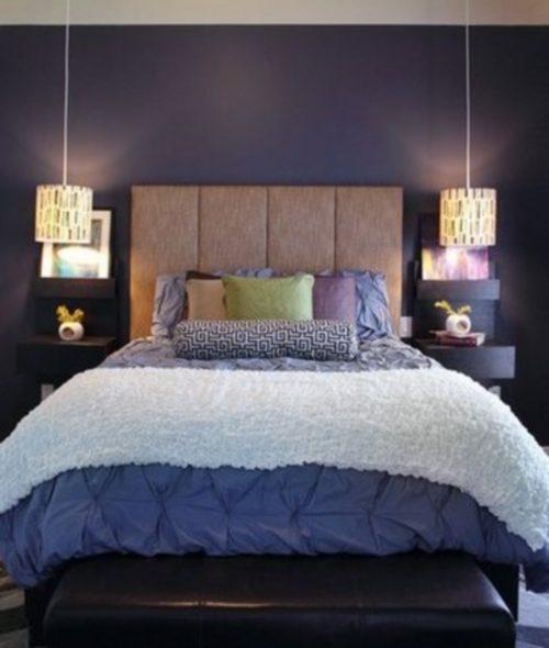 На какой высоте вешать бра над кроватью, диваном, столом