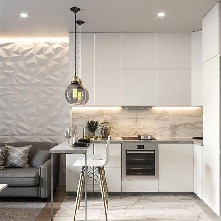 Кухня 17 кв. м. - 120 фото дизайна и лучшие варианты оформления просторных кухонь