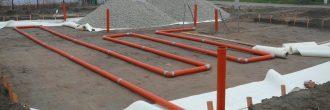 Способ укладки геотекстиля: правила и технология монтажа