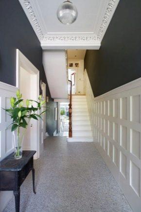 Серая прихожая: идеи дизайна коридора - 17 фото
