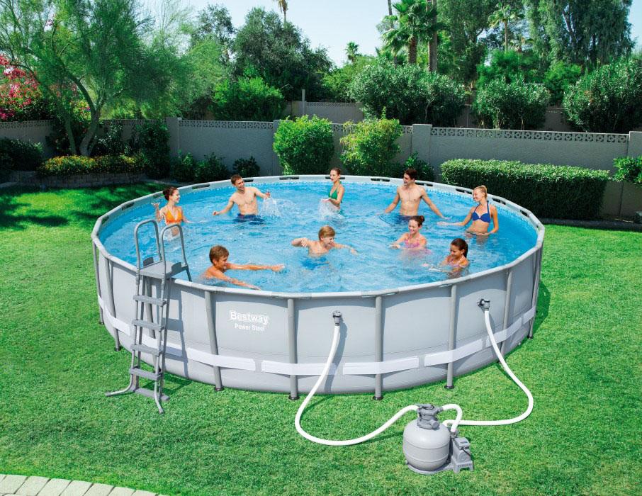 Как сложить круглый бассейн? как свернуть его на зиму? схемы сборки