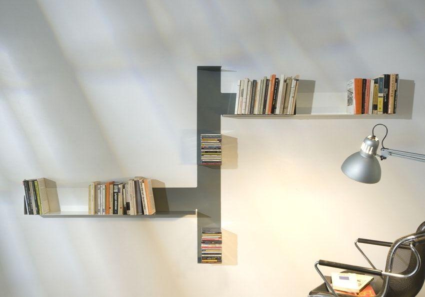 полочки для книг на стену