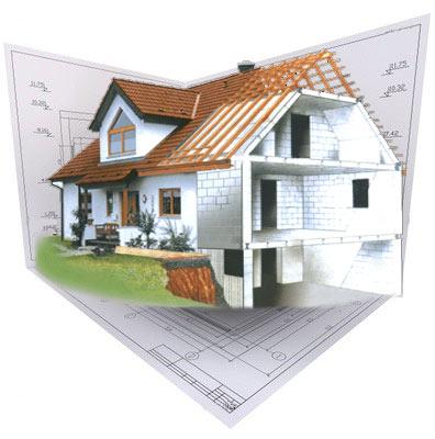 как построить дом на участке