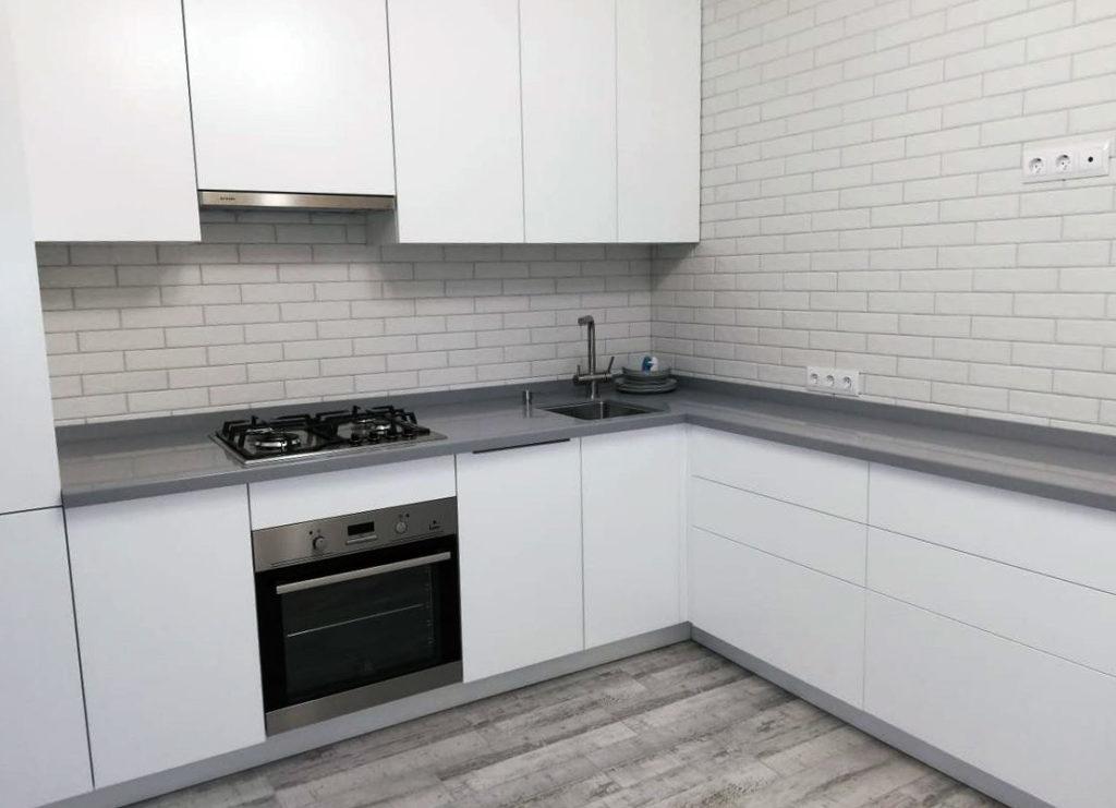 белые кухни в современном стиле фото