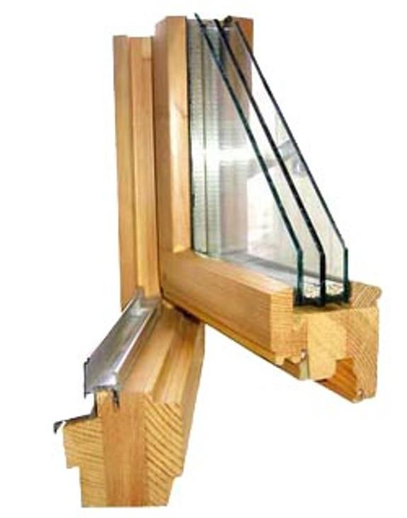 Современные деревянные окна со стеклопакетами: правила выбора