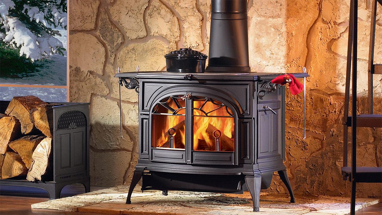 дровяная печь для дома