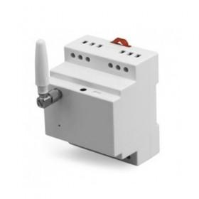 gsm контроллер управления питанием на din рейку