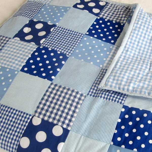 Пэчворк для начинающих: лоскутное одеяло своими руками