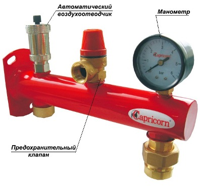 Автоматический воздухоотводчик для отопления принцип работы и монтажа  устройства