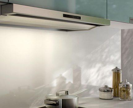 Вытяжка для кухни без отвода в вентиляцию: достоинства, недостатки