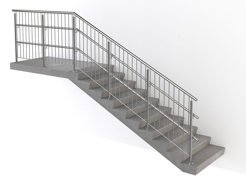 Ограждение на лестницу от детей своими руками - всё о лестницах