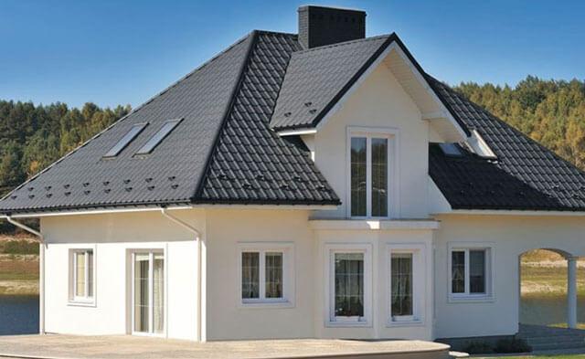 Подбор сайдинга под цвет крыши, общие критерии выбора
