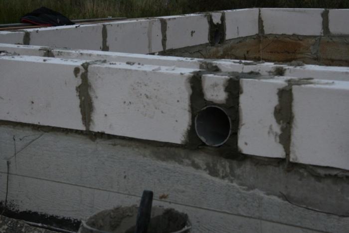 Нужно ли закрывать вентиляционные отверстия в фундаменте на зиму - строим сами