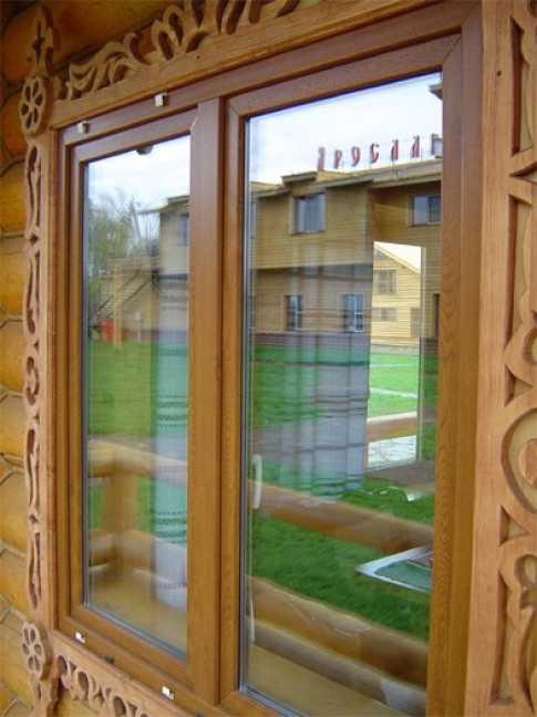 Наличники на окна в деревянном доме - фото примеров