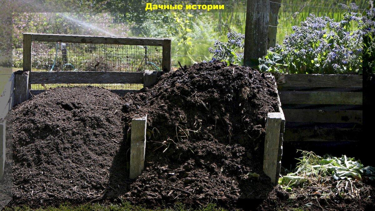 Как ускорить созревание компоста: механический и препаратный метод