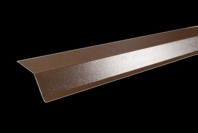 Планка торцевая для металлочерепицы — назначение и порядок установки