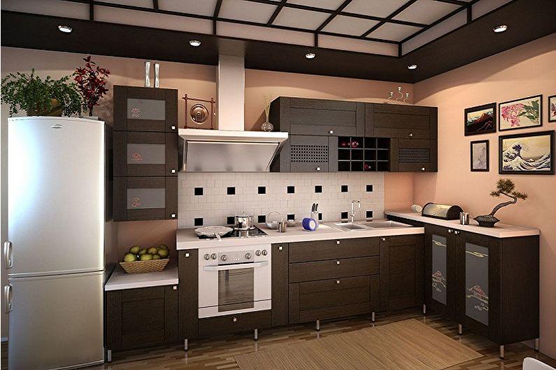 кухни под дерево фото