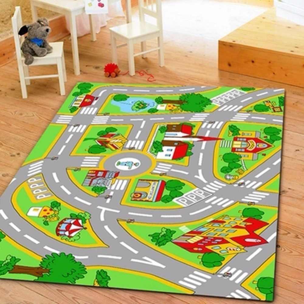 Детский ковер с дорогами