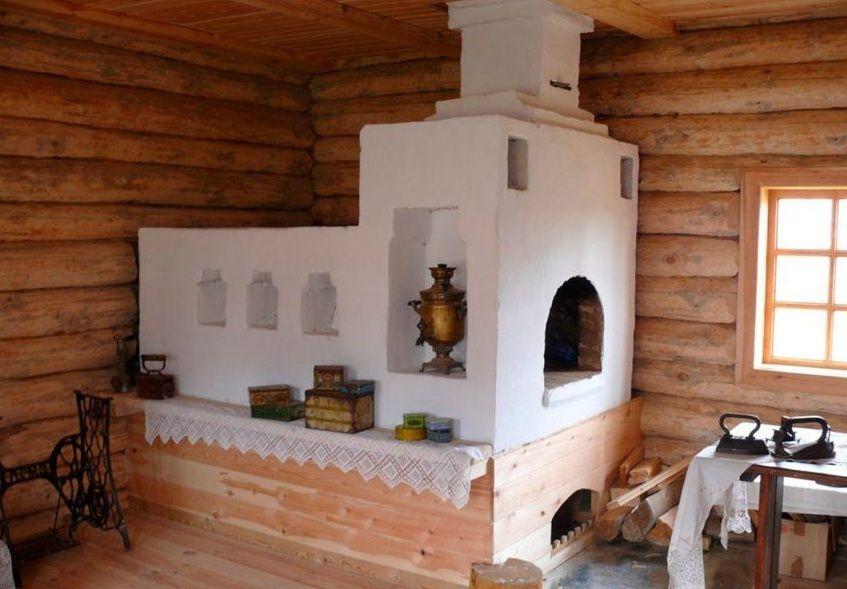 русская печка фото