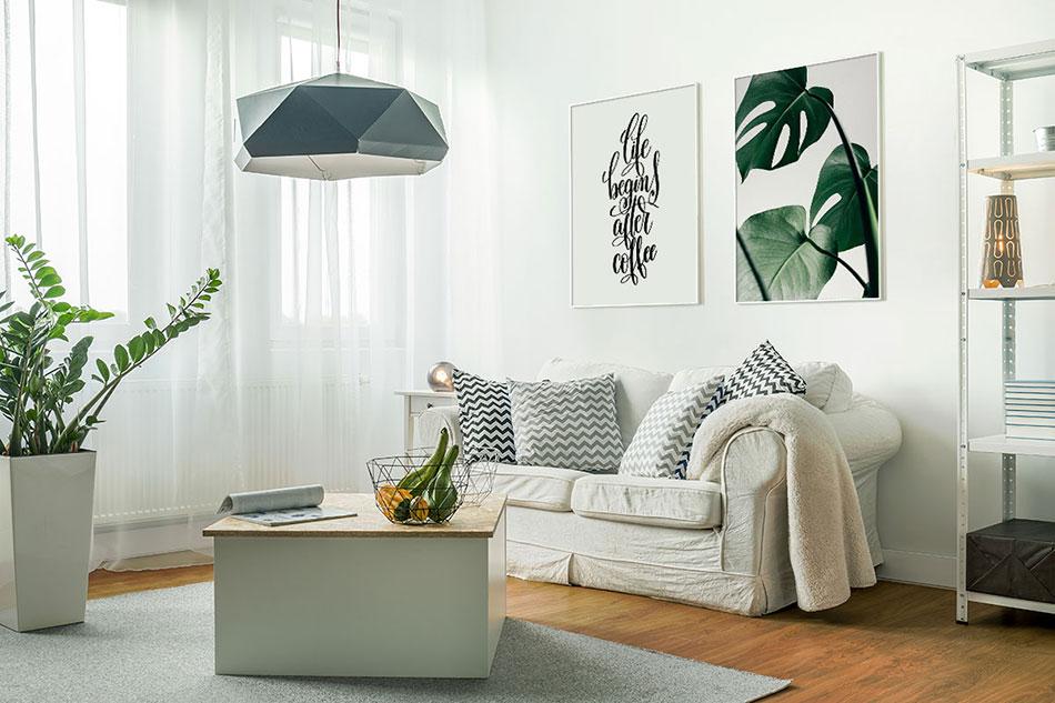 Постеры в интерьере: 5 советов, как использовать настенный декор