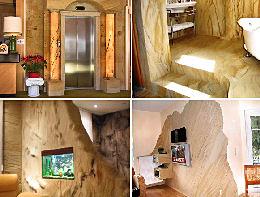 Работа с гибким камнем, технология его производства своими руками в домашних условиях