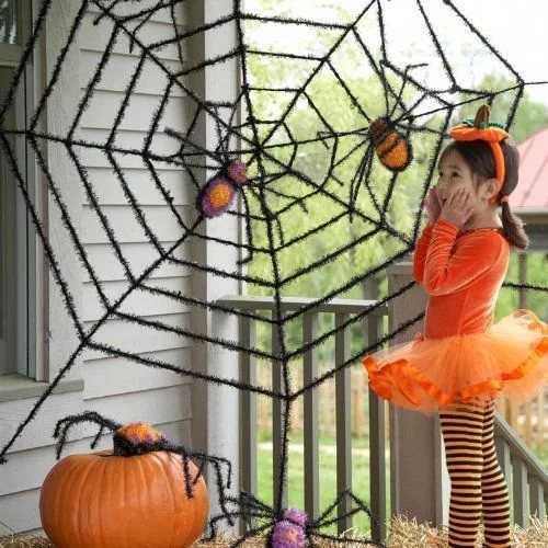 Как украсить комнату на хэллоуин 2020 своими руками: легко и быстро, из бумаги, фото, оригинально