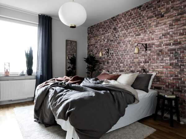 Обои в спальню: 71 фото интерьеров  и правила комбинирования