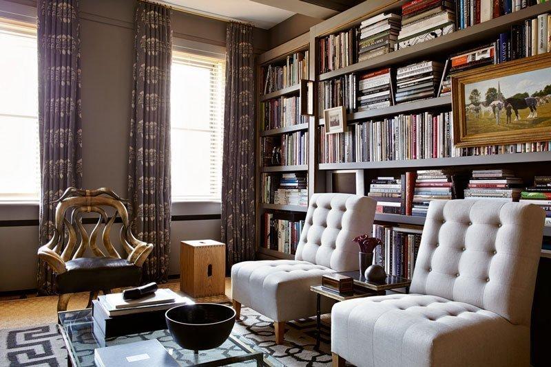 Дизайн библиотеки: как создать домашнюю библиотеку в квартире? (38 фото) | дизайн и интерьер