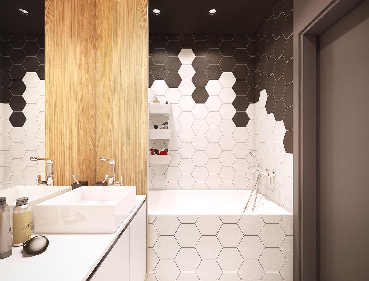 Облицовка плиткой ванной комнаты своими руками / zonavannoi.ru
