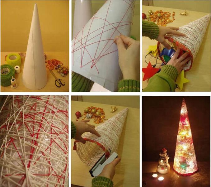 Как сделать елку из бумаги