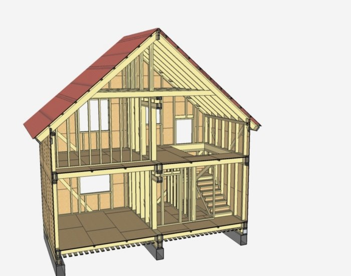 Устройство деревянных перегородок