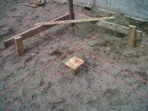 Разметка фундамента под дом своими руками: инструкция