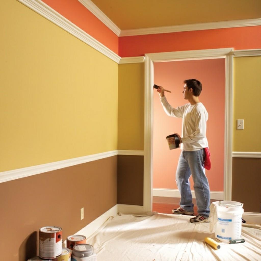 краска для покраски стен