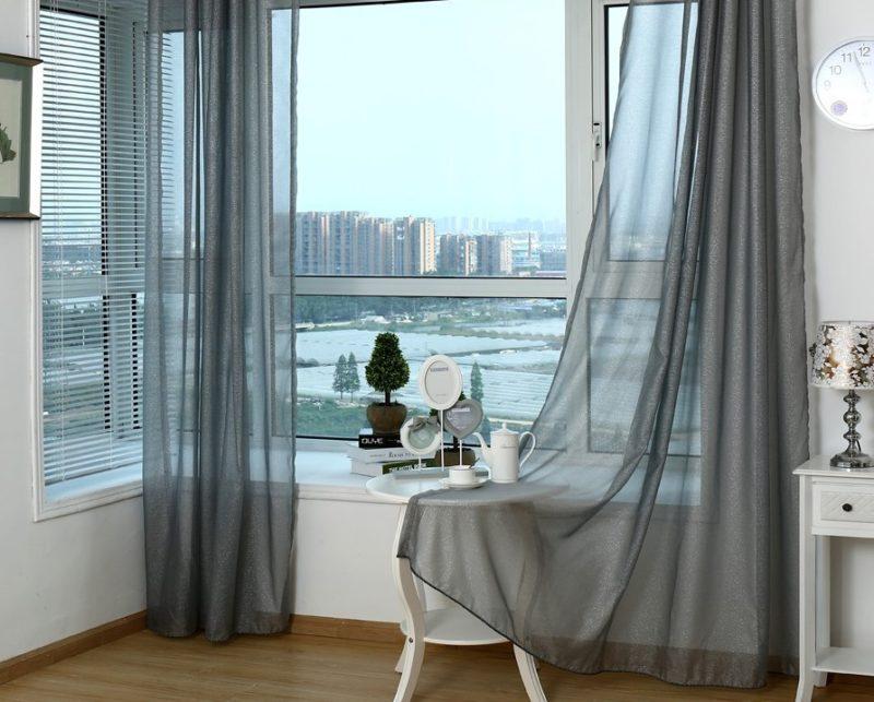 Дизайн штор — 150 фото лучших идей оформления в интерьере