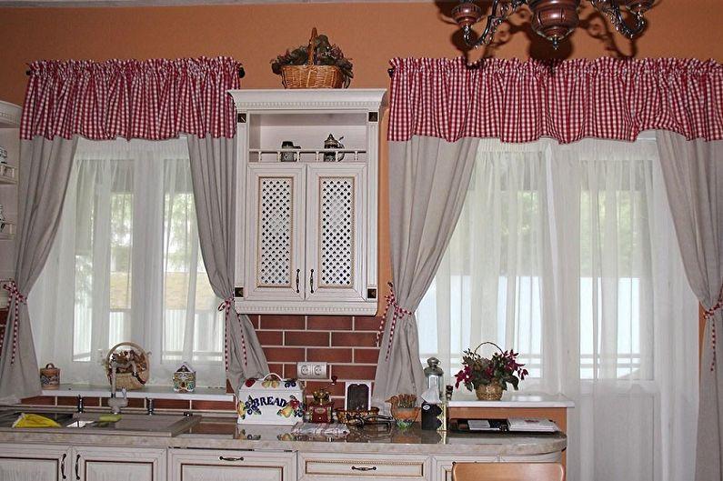 как подобрать шторы на кухню по цвету