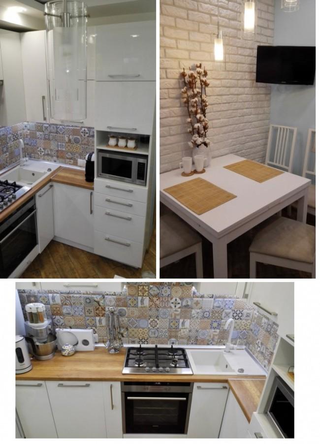 кухонный стол со стульями для маленькой кухни